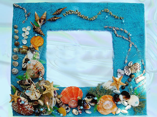 морские рамки своими руками картинки