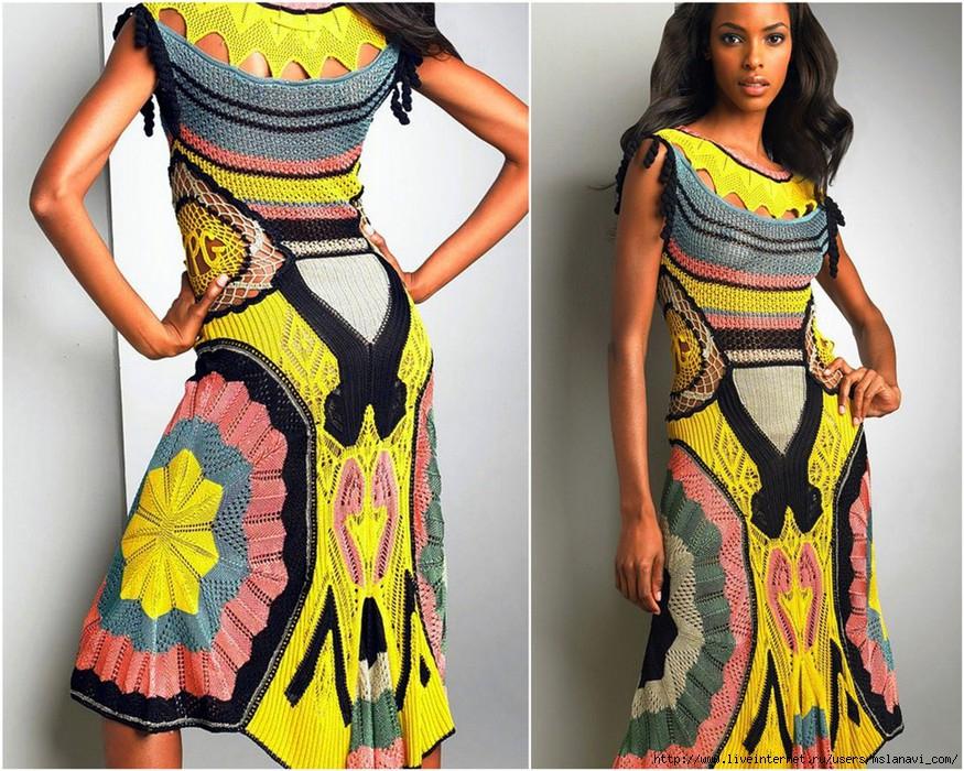 Особливий інтерес викликають стильні і елегантні в язані літні сукні. Вони  радикально різняться від попереднього варіанту суконь. 6c4100a00821f