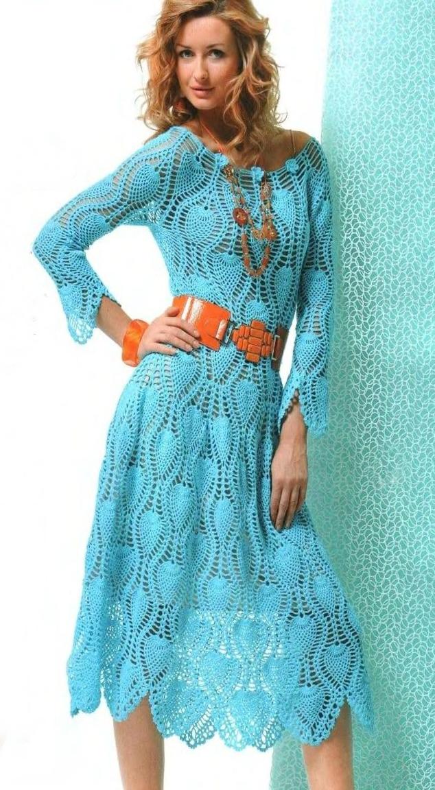 Популярні зараз сукні з візерунками та косами ecb866c5f6098